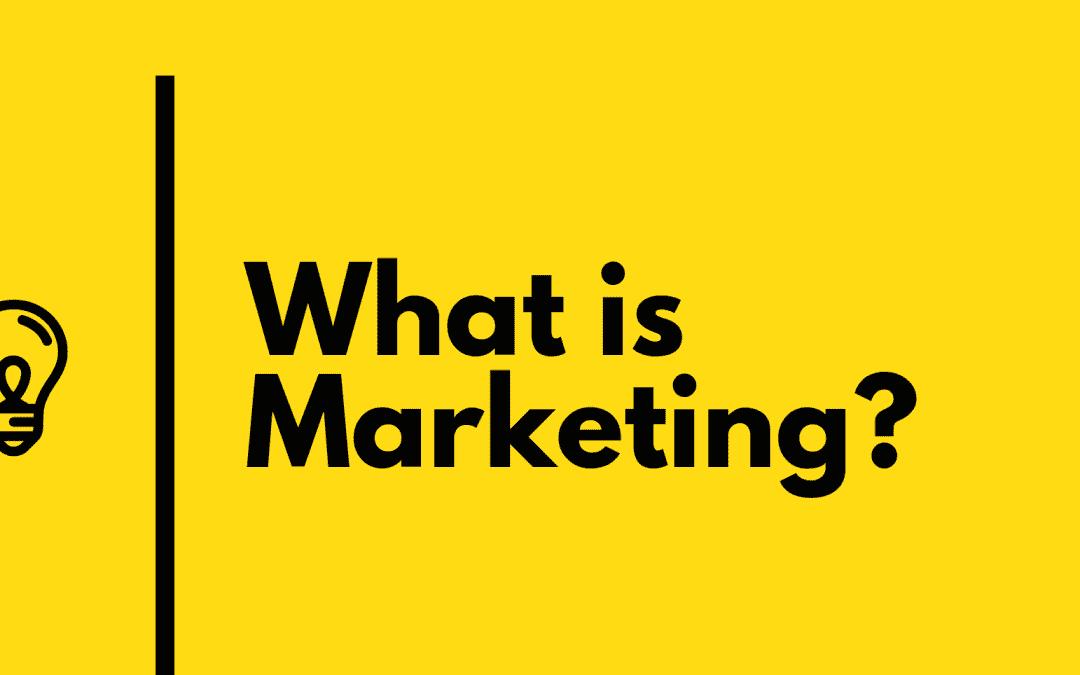 Что такое маркетинг